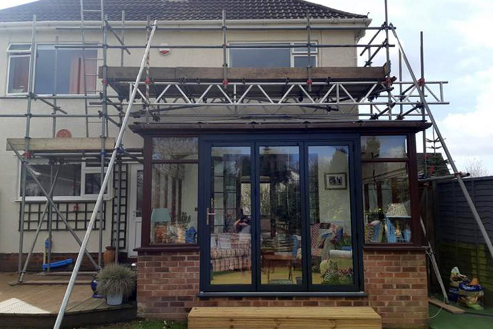 Conservatory scaffolding - Our Services
