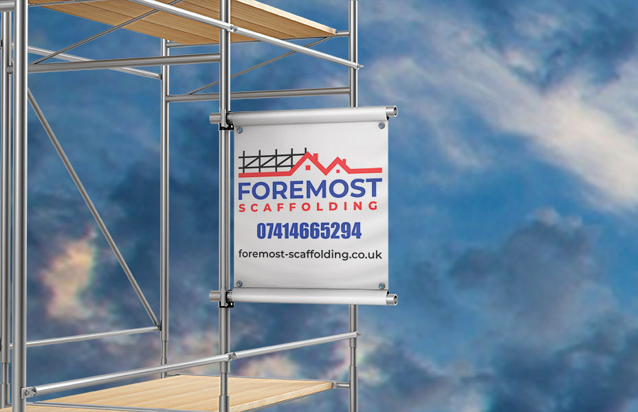 Foremost Scaffolding banner - Our work